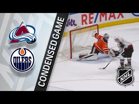 02/01/18 Condensed Game: Avalanche @ Oilers