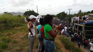 Uptown Jouvert (Monkey Hill) 2016 Sugar Band Coming Down The Road
