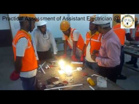 Practical Assessment of Assistant Electrician under #PMKVY 2.0 & successfully completed.