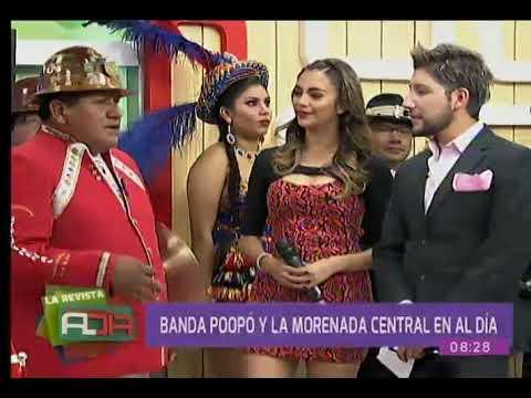La banda Poopó y La Morena Central visitan la Revista Al Día