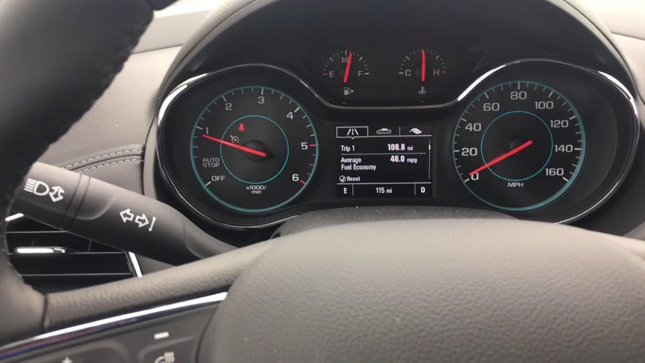 2017 Chevrolet Cruze Sel Auto Stop