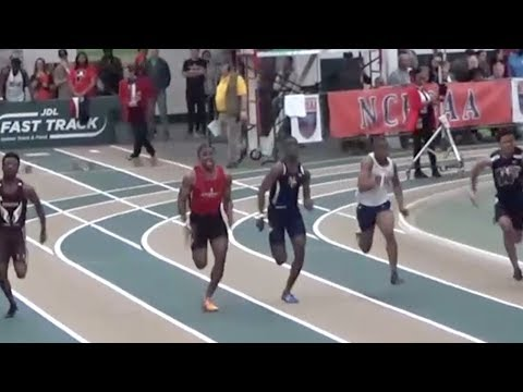 FRESHMAN Runs Fastest 55m In The Country!