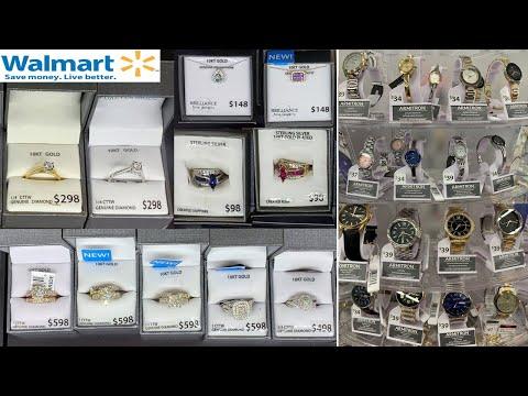 Walmart Fine Jewelry & Watches * Genuine Diamond, Gemstone, Gold Jewelries  ~ Shop With Me