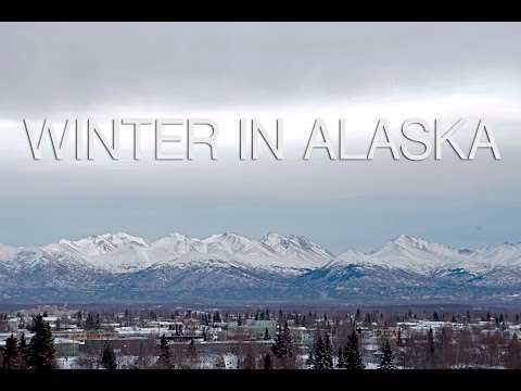 Traveling Alaska From Anchorage to Fairbanks in the Winter - Without A Path