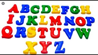 Learn Alphabets For Kids | Abcd With Words and Pictures | Pre School Learning Videos