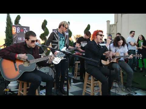 My Chemical Romance  Im Not Okay I Promise  Acoustic at 987FM Penthouse