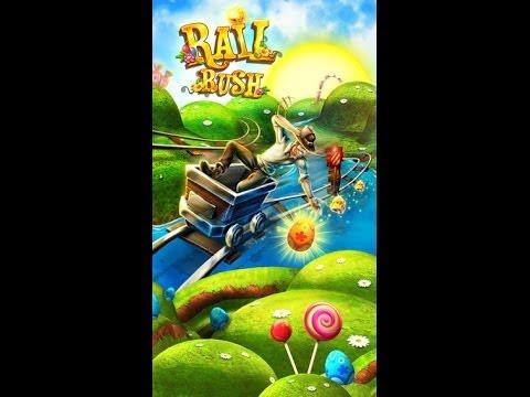 Rail Rush Android & iOS GamePlay
