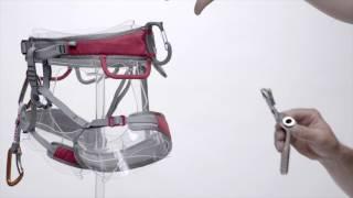 Mammut Zephir Altitude Klettergurt : Mammut togir light harness videos clips