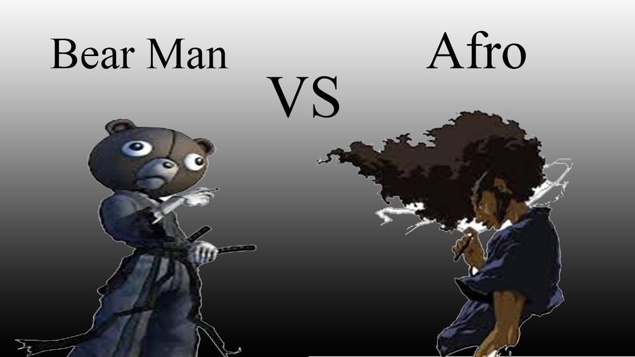 bearman afro