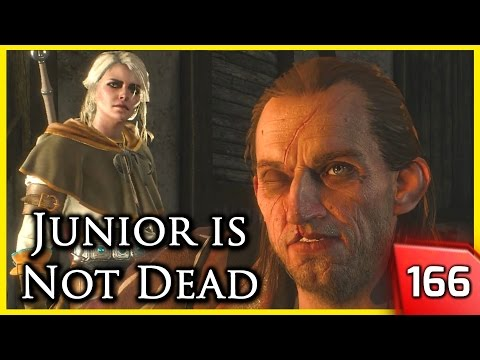 The Witcher 3 ► Ciri & Geralt Meet Whoreson Junior, who Survived his Death #166 |