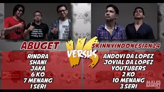 VERSUS - Abuget VS Skinnyindonesian24 [Presented by Nokia Lumia] Part 2