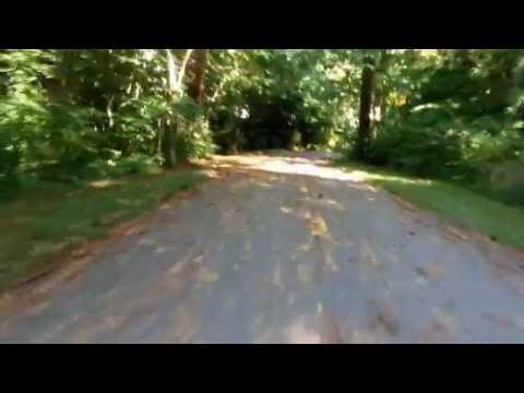 A 'Bike View' of Alum Creek Trail - Easton to Westerville - Columbus Ohio