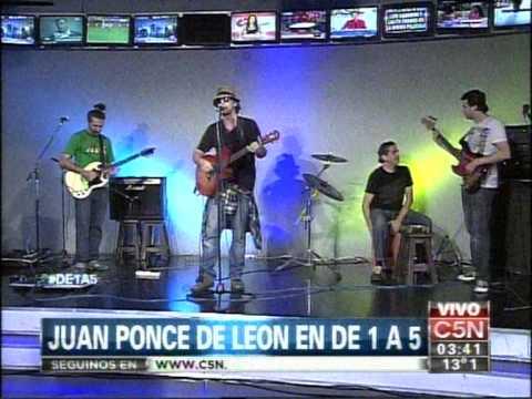 C5N – MUSICA: JUAN PONCE DE LEON EN DE 1 A 5