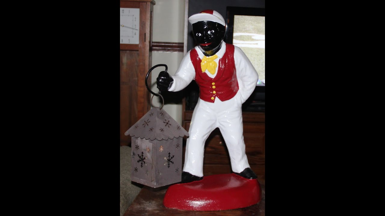 How To Refurbish The Quot Jocko Quot Style Lawn Jockey Youtube