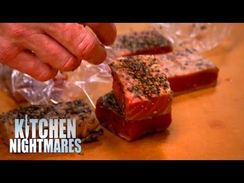 Gordon Shows Customers DISGUSTING KITCHEN | Kitchen Nightmares