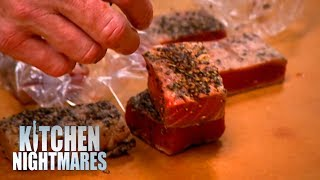 Gordon Shows Customers DISGUSTING KITCHEN | Kitchen Nightmares