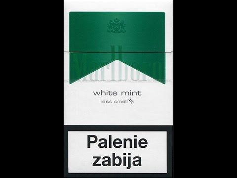 Test #15 - Papierosy #11: Marlboro White Mint
