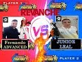 KOF 98 - JUNIOR LEAL  vs FERNANDO ADVANCED ( YZKOF/FT20 ONLINE AO VIVO)aquecimento campeonato