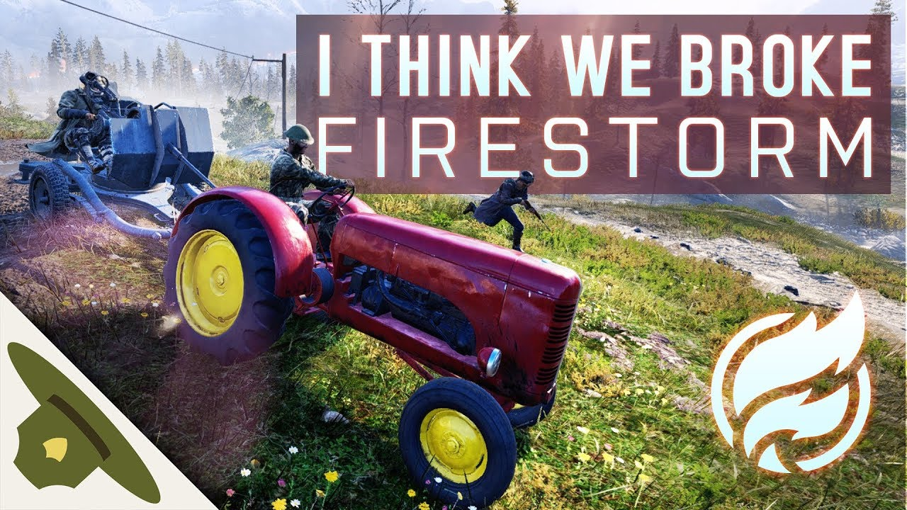 Battlefield 5 Firestorm Funny Moments: I think we broke it