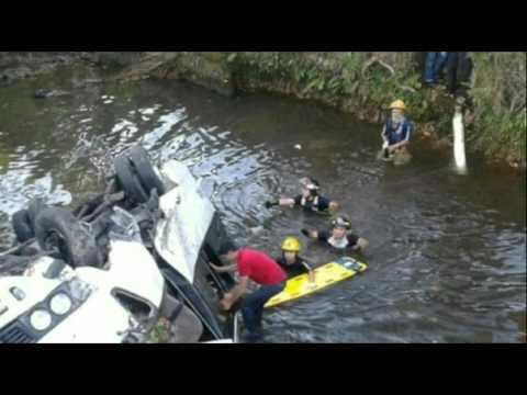 Deadly Panama Crash: Bus Falls Into Ravine Near Costa Rica Border