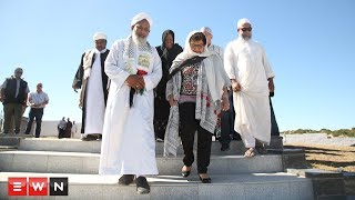 As part of the centennial celebrations in honor of former president nelson Mandela today,  ANC Secretary General Jessie Duarte and minister Naledi Pandor visited the Kramat of Shaykh Yusuf. The Muslim burial site is in Macassar, Cape Town.   Shaykh Yusuf is widely regarding as the founder of the Islam in the Cape after converting many slaves, working on surrounding farms, to the faith.   Pandora and Duarte visited the Karamat, also a heritage site, to pay their respects to the Muslim leader and receive prayers. The two later returned to Cape Town to attend other centenary events.  Click here to subscribe to Eyewitness news:http://bit.ly/EWNSubscribe  Like and follow us on:http://bit.ly/ EWNFacebookANDhttps://twitter.com/ewnupdates  Read full article on Eyewitness news:Insert the URL of the story that is published on the site here  Keep up to date with all your local and international news:www.ewn.co.za  Produced by: Bertram Malgas