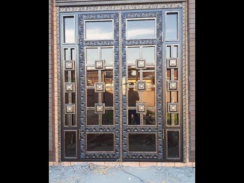 Двери из металла своими руками фото