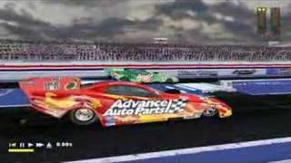 NHRA Quarter Mile Showdown - drag racing