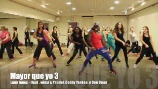 Mayor Que Yo 3 (feat. Wisin & Yandel, Daddy Yankee y Don Omar) Zumba® Choreography - Siddy Leal