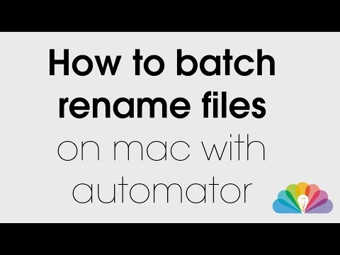 Batch Rename Files in Yosemite (#1045) from YouTube · Duration:  4 minutes 26 seconds