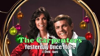 The Carpenters - Yesterday Once More (Karaoke)
