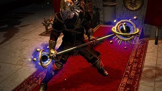 Path of Exile: Celestial Staff