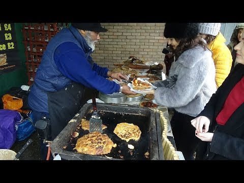The Most Delicious Creole Fritters for only £2.00 - London Street Food by a very Hardworking Couple.