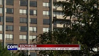 Air condition issues raising concerns at apartment complex