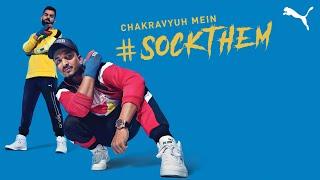 Chakravyuh mein #SockThem | Virat Kohli X DIVINE | PUMA