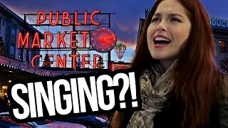 SINGING w/ FANS in SEATTLE?! (Lunchy Break)
