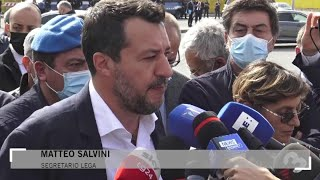 Open Arms, Salvini all'udienza a Palermo: