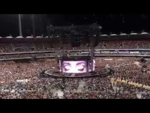 Start of the Concert Adele 5 March 2017BrisbaneHello