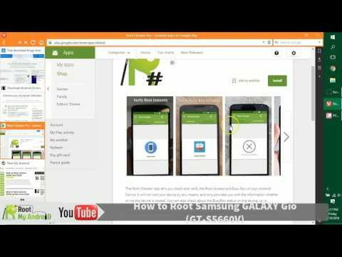 Root Samsung Galaxy Gio gt s5660v One Click Easy