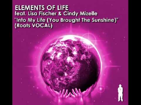 VR070 Elements Of Life Feat  Lisa Fisher and Cindy Mazelle Into My Life (You Brought The Sunshine)