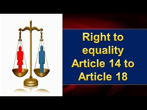 right to equality article 14 18 pdf