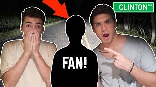 im taking a fan to clinton road... (find out how to enter in this video)