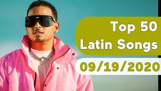 US Top 50 Latin Songs (September 19, 2020)