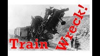 Erinsville Train Wreck of 1892 Bay of Quinte Railway Ontario Railway Crash