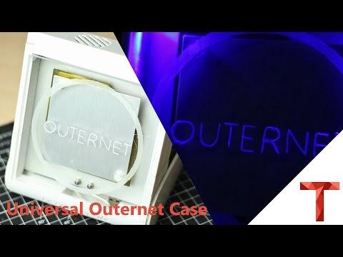 [EN subs] Outernet Case aus dem 3D Drucker (Universal elv. Winkel) - für DIY Kit