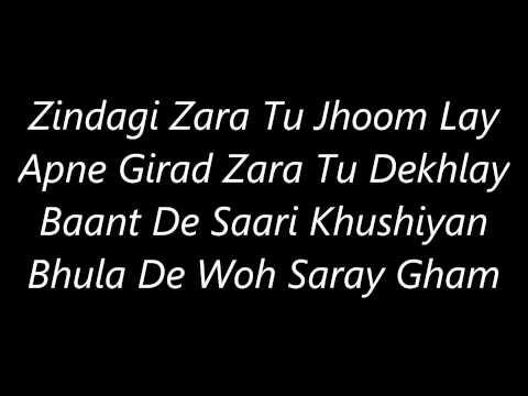 Atif Aslam's Zindagi 's Lyrics