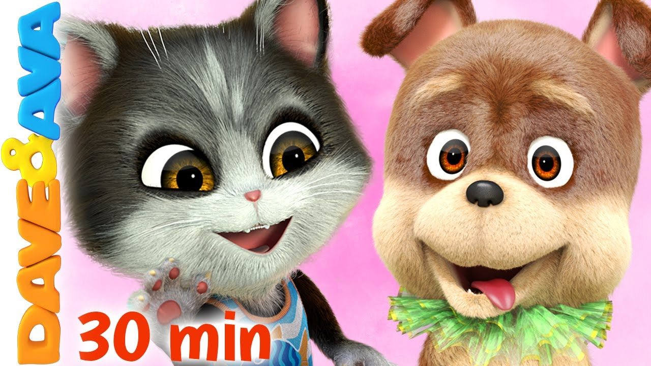 🐱Oscar Song and More Nursery Rhymes & Kids Songs by Dave and Ava 🐶
