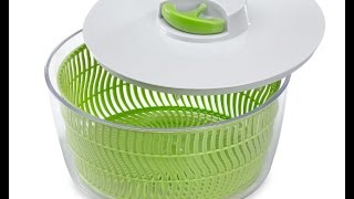PREPWORKS PROGRESSIVE SALAD SPINNER DEMO/REVIEW