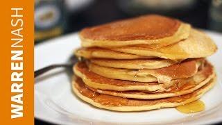 American Pancakes Recipe - From Scratch In 60 Sec - Recipes By Warren Nash
