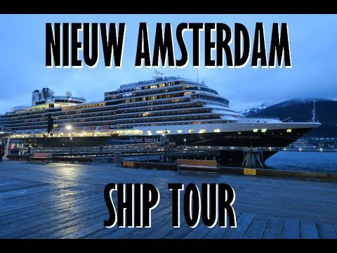 Holland Americas Nieuw Amsterdam Ship Tour May YouTube - Holland new amsterdam cruise ship