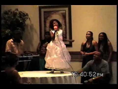 "Soleil Rowe, 6-years-old, sings at Lawrence ""Yagga"" Rowe 60th Celebration"